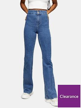 topshop-flared-joni-jeans-blue