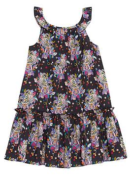 Mintie by Mint Velvet Mintie By Mint Velvet Girls Tiger Print Sleeveless  ... Picture