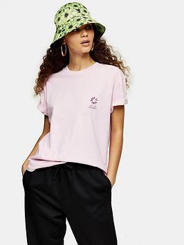 Topshop Topshop Dragon T-Shirt - Pink Picture