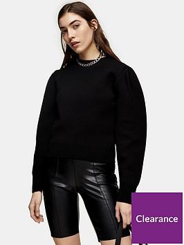 topshop-punbspcycling-shorts-black