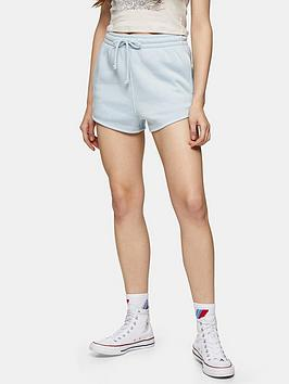 topshop-90s-style-sweat-runner-shorts-blue
