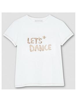 Mintie by Mint Velvet Mintie By Mint Velvet Girls Let'S Dance T-Shirt  ... Picture