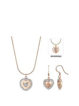 buckley london Buckley London Buckley London Spinning Heart Jewellery Set Picture