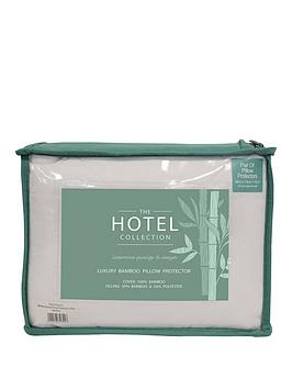 Hotel Collection Hotel Collection Hotel Collection Bamboo Pillow Protector Picture