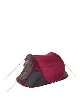 Regatta Malawi 2-Man Pop-Up Tent - Red