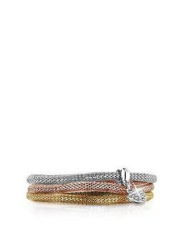 buckley london Buckley London Heart Mesh Bracelet Set Picture