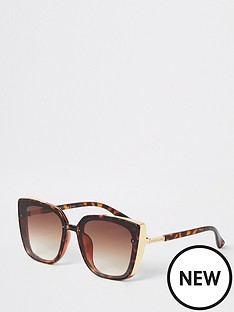 river-island-metal-side-detail-glam-sunglasses-tort