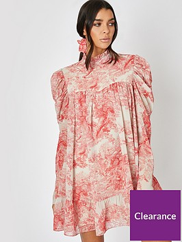 in-the-style-in-the-style-x-lorna-luxe-cora-pearl-impossibly-perfect-highnbspneck-swing-dress-pink
