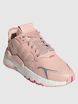 adidas Originals Adidas Originals Junior Nite Jogger Trainers - Pink Picture