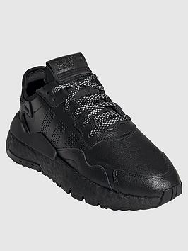 adidas Originals Adidas Originals Junior Nite Jogger Trainers - Black
