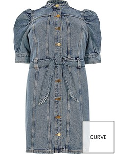 ri-plus-button-down-denim-dress-blue-denim