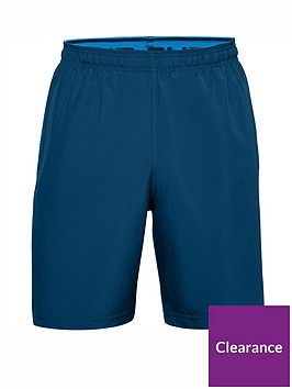 under-armour-woven-graphic-shorts-blue