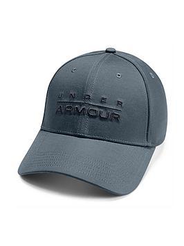 under-armour-wordmark-cap-grey