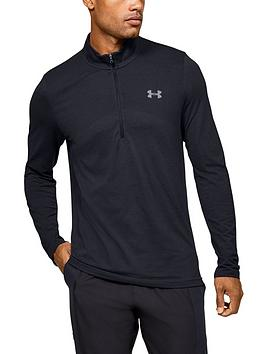under-armour-seamless-12-zip-top-black