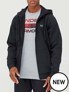under-armour-rival-fleece-full-zip-hoodie-blackwhite