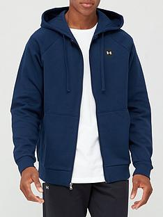 under-armour-trainingnbsprival-fleece-full-zip-hoodie-navywhite