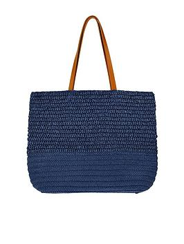 Monsoon Monsoon Kaz Straw Shoulder Bag Picture