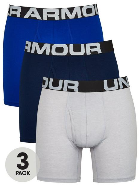 under-armour-3-pack-ofnbspcharged-cotton-boxers-grey