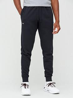 under-armour-trainingnbsprival-fleece-joggers-blackwhite