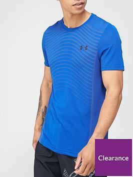 under-armour-seamless-wave-t-shirt-royal