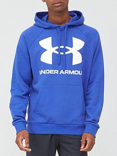 under-armour-rival-fleece-big-logo-hoodie-bluewhite