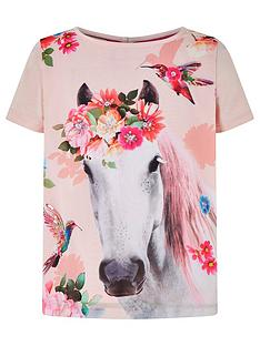 monsoon-girls-sienna-horse-top-pink