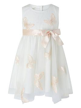 Monsoon Monsoon Baby Girls Molly Butterfly Dress - Ivory Picture