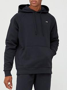 under-armour-rival-fleece-hoodie-blackwhite