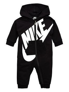Nike Nike Baby French Terry Coverall - Black Picture