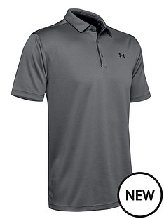 under-armour-tech-polo-graphite