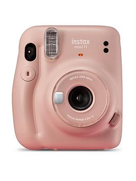Fujifilm Instax    Mini 11 Instant Camera Kit Inc 20 Shots - Blush Pink - Instant Camera Only