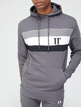 11-degrees-mercury-mesh-print-cut-and-sew-pullover-hoodie-slatenbsp