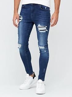 11-degrees-essential-super-stretch-distressed-skinny-jeans-indigo-washnbsp