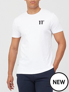 11-degrees-core-t-shirt-white