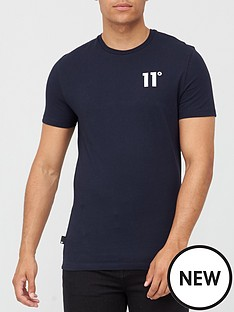 11-degrees-core-t-shirt-navy