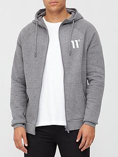 11-degrees-core-full-zip-hoodie-charcoal-marl