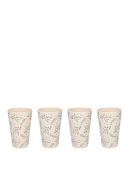 Very Natural Elements Set Of 4 Eco-Friendly Bamboo Cups Picture