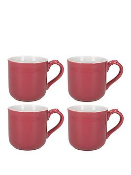 Very Set Of 4 Pink Mugs Picture