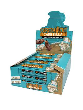GRENADE Grenade Carb Killa Bars Chocolate Chip Salted Caramel (Box Of 12) Picture