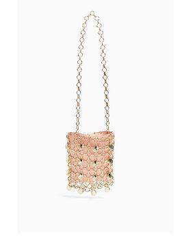 Topshop Topshop Metal Shell Shoulder Bag - Pink Picture