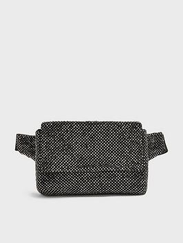 Topshop Topshop Diamonte Bumbag - Grey Picture