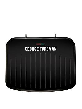 George Foreman   Medium Fit Grill - Black
