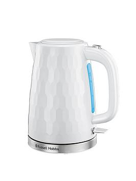 Russell Hobbs Russell Hobbs Honeycomb Kettle - White Picture