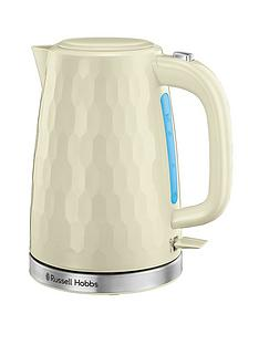 russell-hobbs-honeycomb-kettle-cream