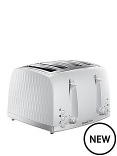 russell-hobbs-russell-hobbs-honeycomb-toaster-white-4-slice