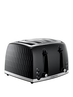 russell-hobbs-honeycomb-black-4-slot-toaster-26071