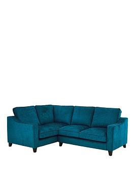 Very Ruby Fabric Left Hand Corner Group Sofa Picture