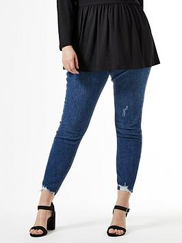 Dorothy Perkins Dorothy Perkins Curve Darcy Jeans - Blue Picture