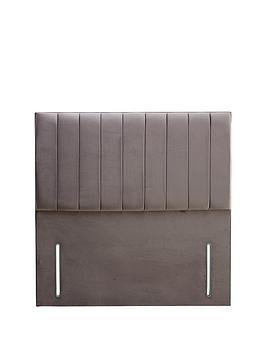 Very Liberty Velvet Divan Headboard - Grey Picture