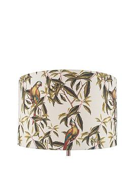 Pacific Lifestyle Pacific Lifestyle Jenny Worrall Parrot Linen Shade Picture